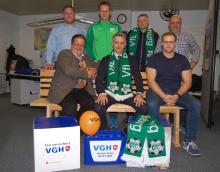 Treffen zur Auslosung des 16.VGH-Cups 2018 in der VGH-Vertretung von Michael Kraus
