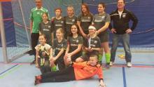 Das Siegerteam der D-Mädels beim Turnier des SC Bielefeld