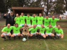 Die in Twistringen siegreiche Mannschaft des VfL Bückeburg