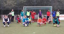 MdB Beermann besucht Freizeitliga des VfL Bückeburg