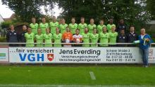 Die U-23 der Saison 2017/18 mit Sponsor Jens Everding