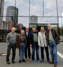 Die VfL-Delegation in Dortmund