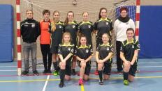 Das ungeschlagene C-Juniorinnen Team vom Brigla-Cup 2017