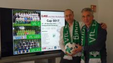 Gemeinsame Ziele: Vorsitzender Tom Cross u. EMB-Geschäftsführer Dieter Meier