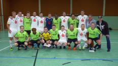 Turniersieger und Zweiter VfL Bückeburg Erste und U-23