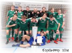 B1-Junioren: Turniersieg in Espelkamp